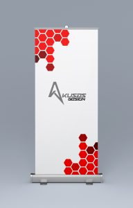 Roll Up Banner Front